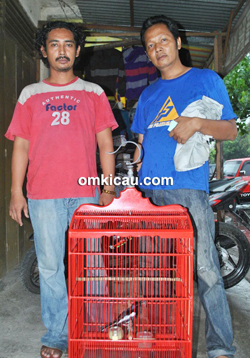 Mr Agung dan kacer Anaconda