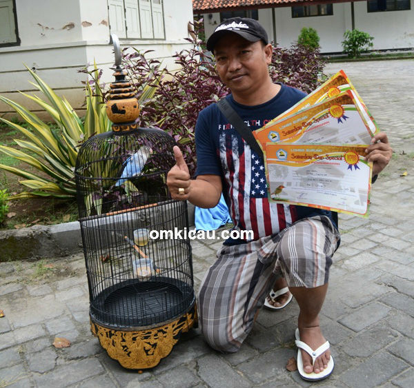 Mr Cool dan lovebird Inul