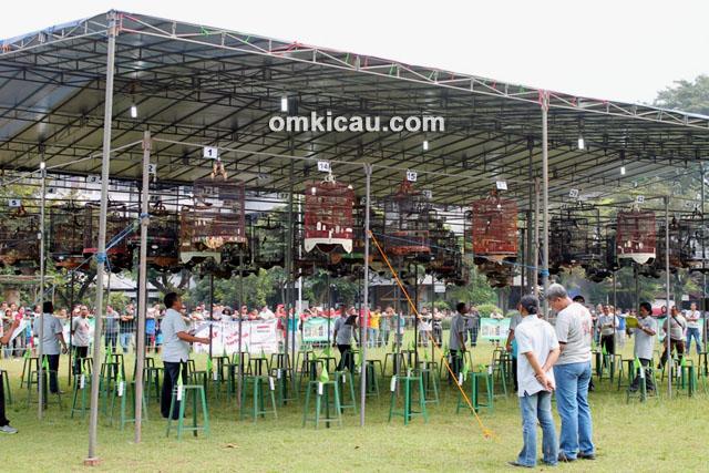 Suasana Lomba DSBC – Perwakilan peserta ikut awasi lomba
