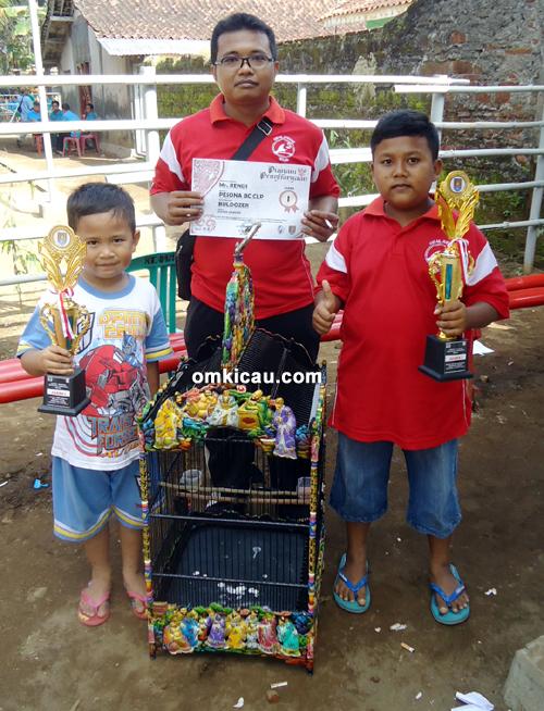 Mr Rendi dan Mr Yudhi Pesona BC – Terbaik di Kelas Kacer Garuda