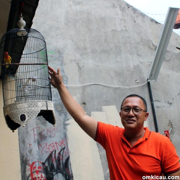 Om Hany Faroko siapkan amunisi ke Kapolda dan PR