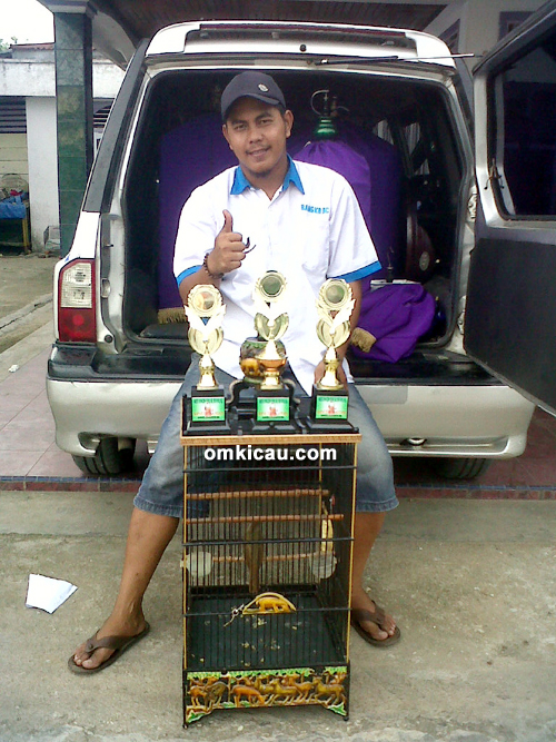 Om Jhon R, pemilik kapas tembak Badai