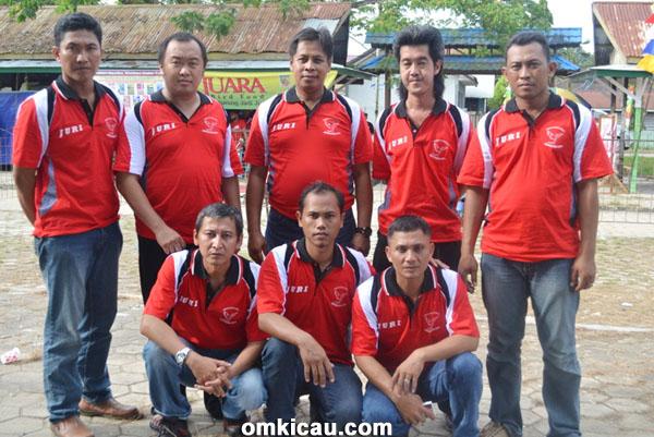 Para juri lomba SangaSanga Cup I