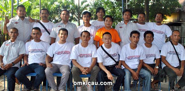 Panitia dan juri Camat Cup Mojolaban