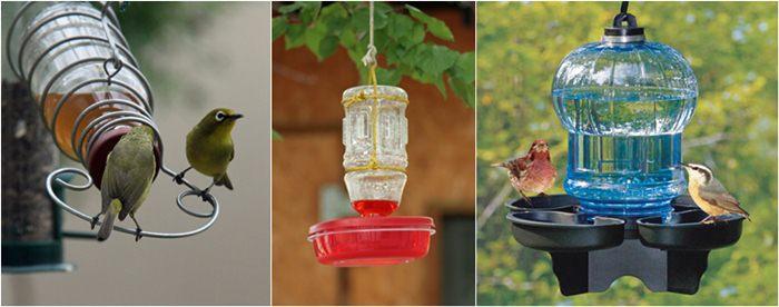 Tempat minum burung yang digantung