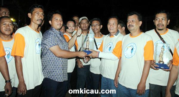 Yogi Naga Hitam juara umum birc club (BC)