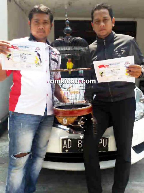 ARIF MP-KIRI & LB SOLO, juara 1 dan 2