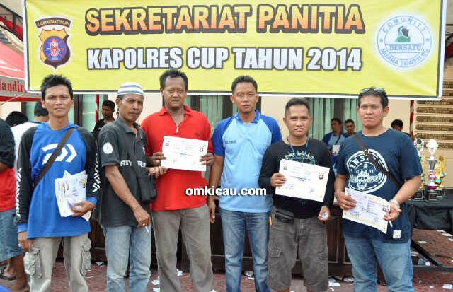 Burung terbaik Kapolres Barito Utara Cup