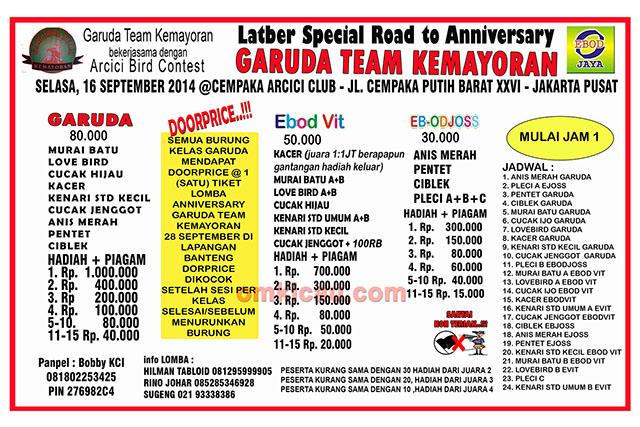 feat Road to Anniversary Garuda Kemayoran