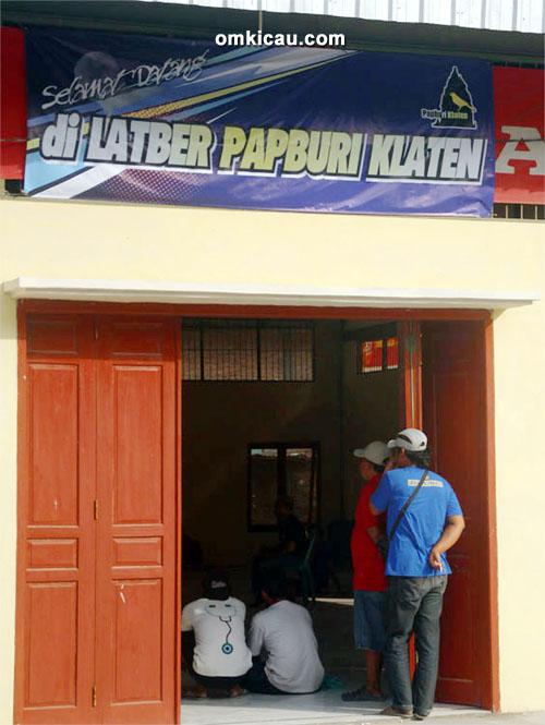 Gerbang Gedung Papburi Klaten