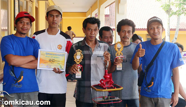 Cucak Hijau Arjuna Hattrick Di Kapolsek Cup Bandungan
