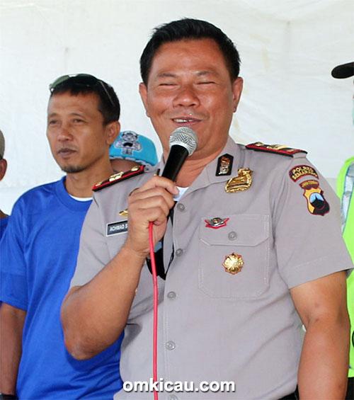 Kapolsek Bandungan Iptu Ahmad Sugeng