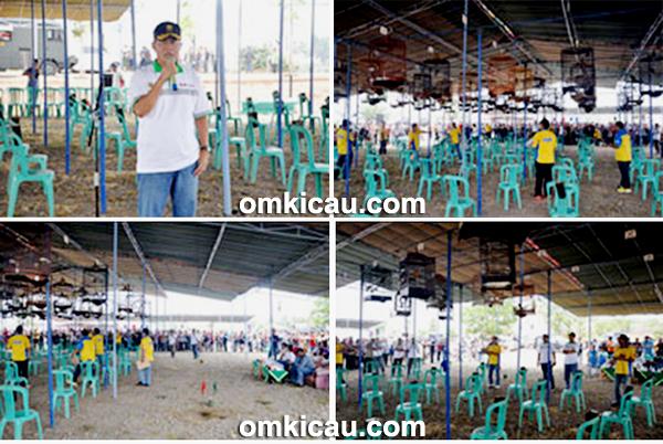 Lomba Burung Berkicau Pangdam Cup I Palembang