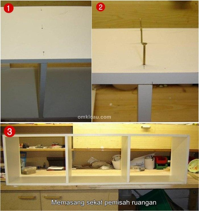 Membuat kandang ternak model kabinet
