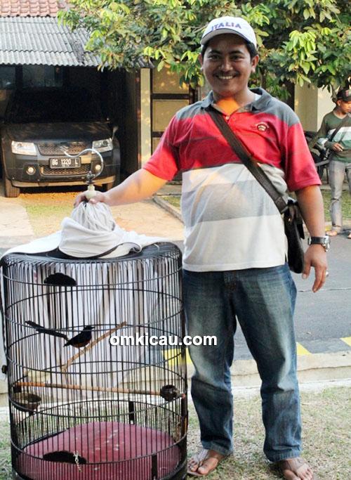 Wahid FIA dan murai batu Dongkrak