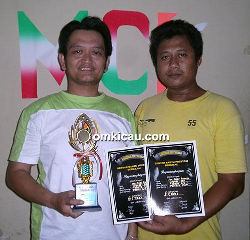Budi Luwes (kiri) sukses bersama pentet Buto Ijo