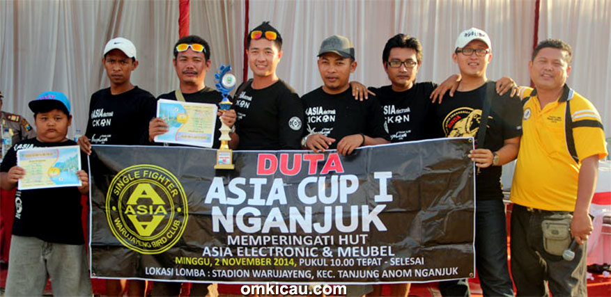 DUTA ASIA CUP – JUARA UMUM BC