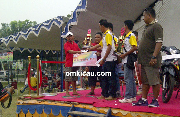 Duta Kapolda Cup Jambi juara umum bc