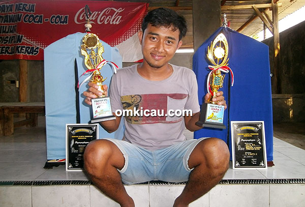 Nico ZC – Pentet Power Speed juara Kelas Bintang