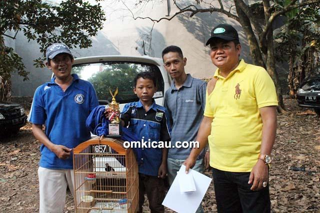 Mego Siswanto dan jalak suren Watu Lintang