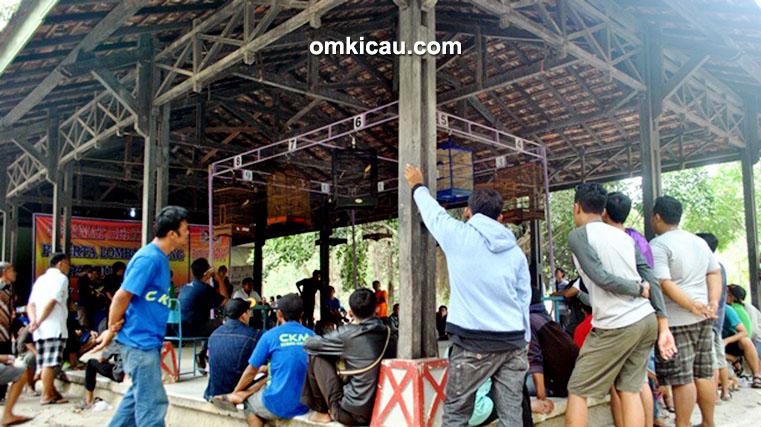 Suasana kontes Papburi Solo