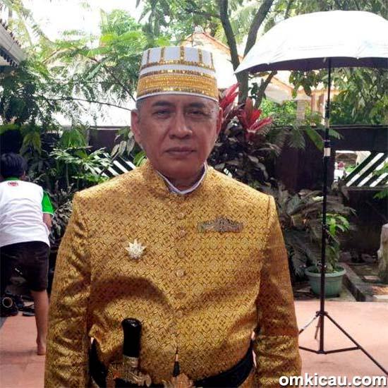 Sultan Muda Banten Drs Tubagus Ismetullah Al Abbas