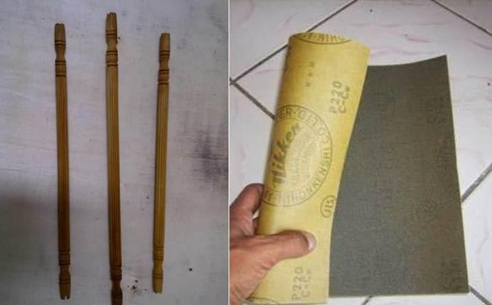 Bahan - bahan yang digunakan untuk membuat tenggeran beramplas