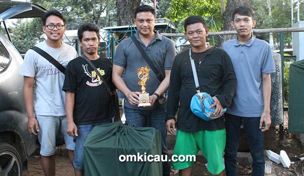 Foto Lomba RMI Cup AKBP Hermawan (tengah) Heroik Unggul di Kenari-7