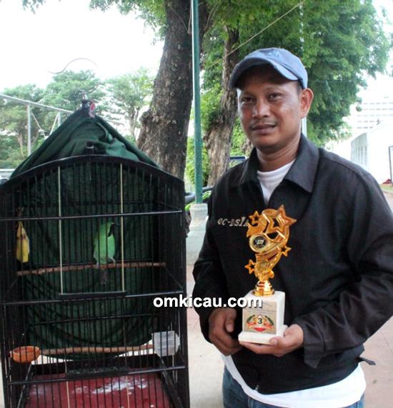 Foto Lomba RMI Cup Boby KCI Kemenangan Mr Granat didedikasikan untuk Alm Om Ary-9