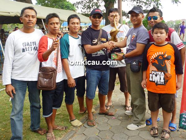 KMP Duta Plaza juara umum BC