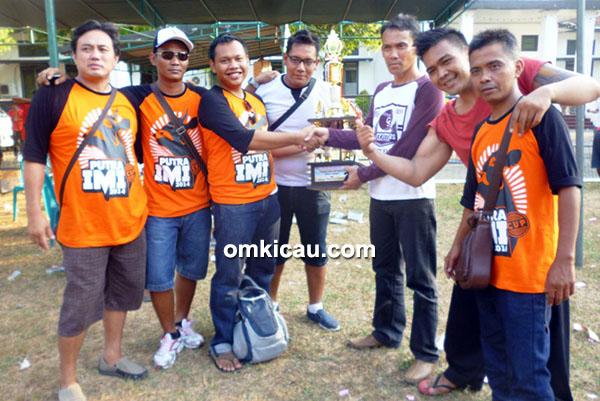 juara umum BC Putra IMI Cup Pati