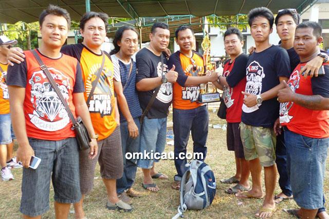 juara umum SF Putra IMI Cup Pati