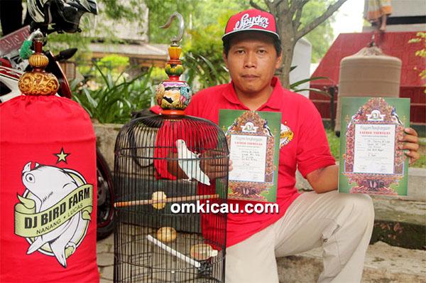 Nanang Kris dan lovebird DJ Krisna