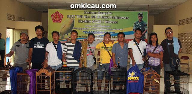 Para juara Kelas Ring Papburi