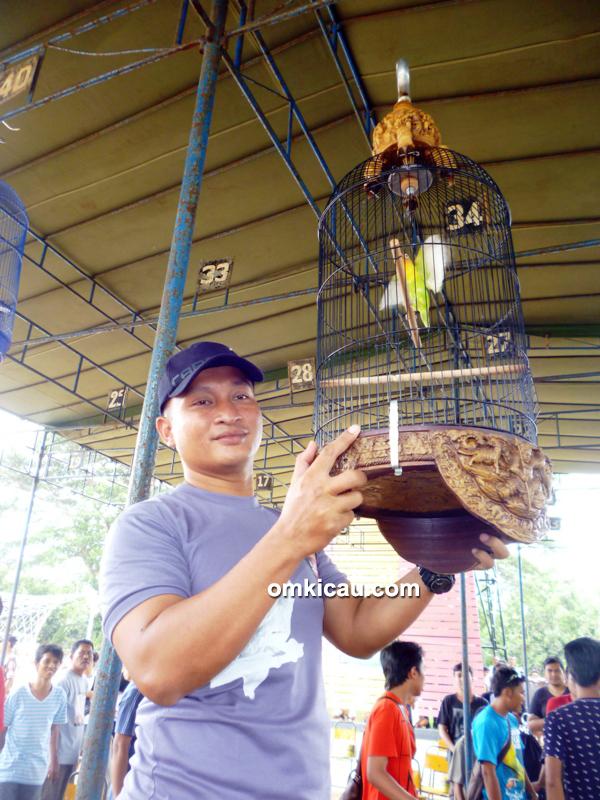 Lomba Burung Brimob Cup Pati