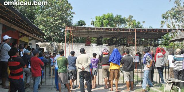 Even Songgolangit di PB Bandongan, Magelang
