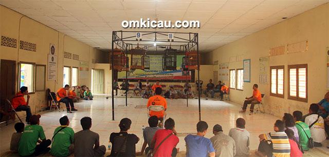 kontes kenari PPK-1 Parikesit Dandim Cup Klaten