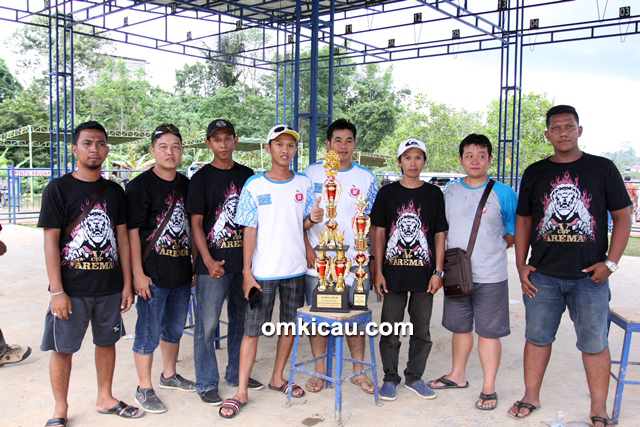 Duta Arema SF juara umum single fighter