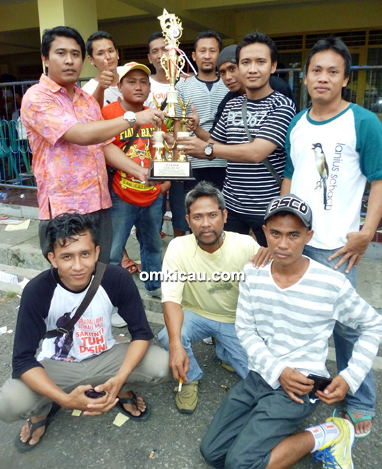 Kurnia SF juara umum single fighter