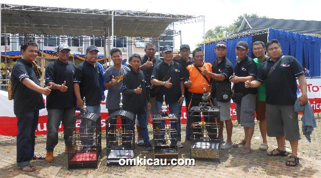 KPKJ Team juara 1 di Kelas SDA melalui kenari Otomatis