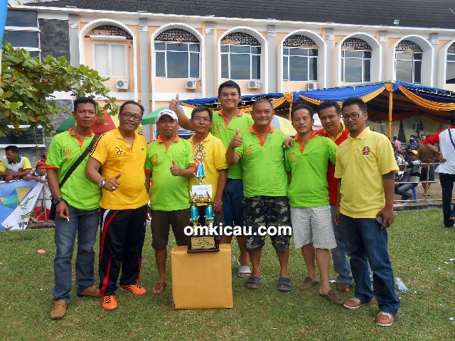 Obit BC tampil sebagai juara umum bird club