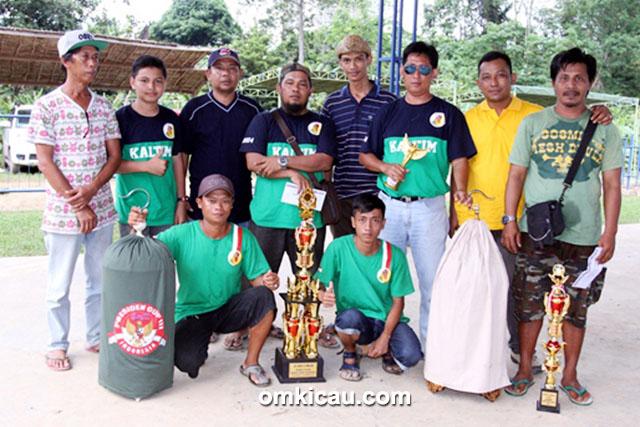 Pelangi BC juara umum