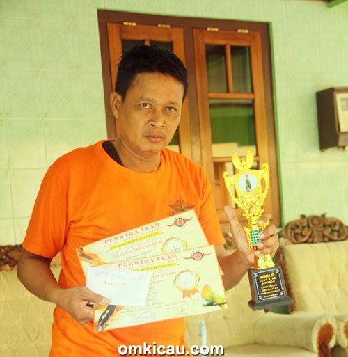 Mr Duwo, pimpinan Solo Star BC.