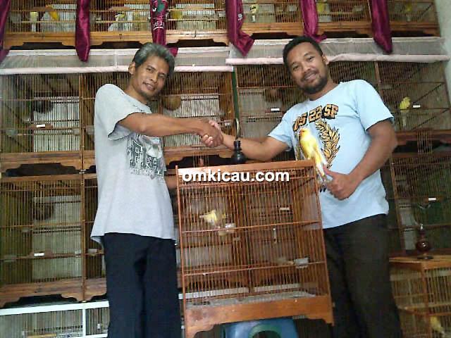 Om Pujo bersama Om Bidin