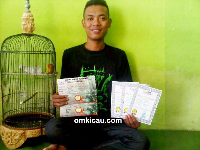 Om Styawan – 2 hari dapat 5 sertifikat