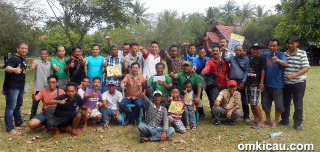 Ozone BC juara umum bird club
