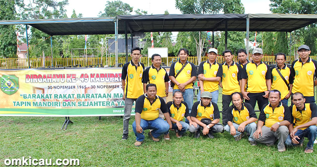 Panitia Pelaksana Lomba Bupati Tapin Cup