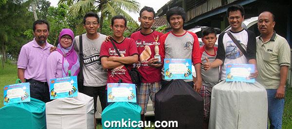 Suhay Omah kenari Cilacap