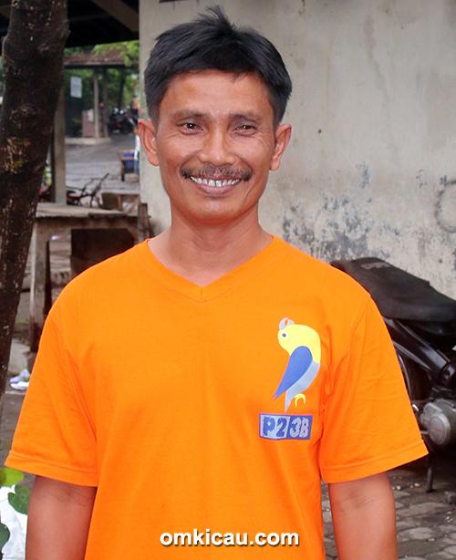 Om Wahono, ketua panitia P2-3B Ngebong