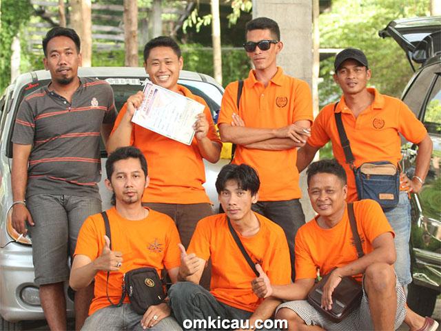 Latpres Arjuna Team - Andi GBU dan kawan-kawan Solo Star BC.